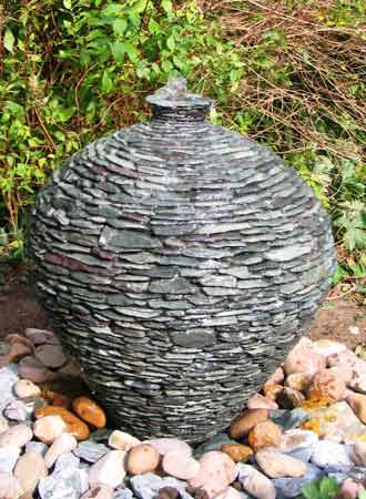 Unique garden stone pots water features and planters about ivel water feature click to enlarge workwithnaturefo